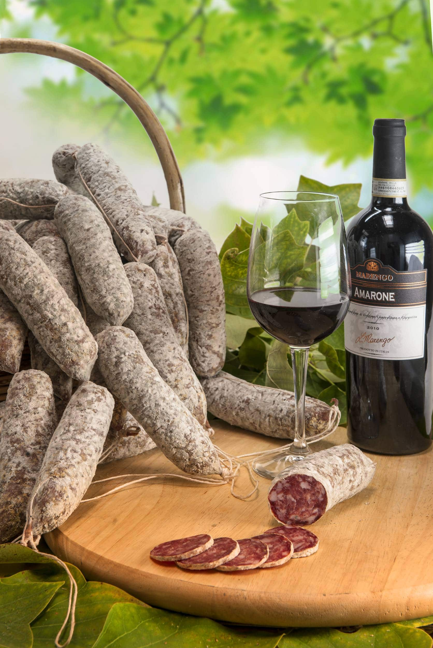 Salame all'Amarone Biologico