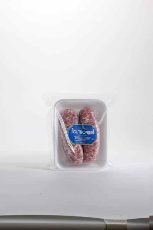 Salamella di Suino confezionata Poltroneri Salumi